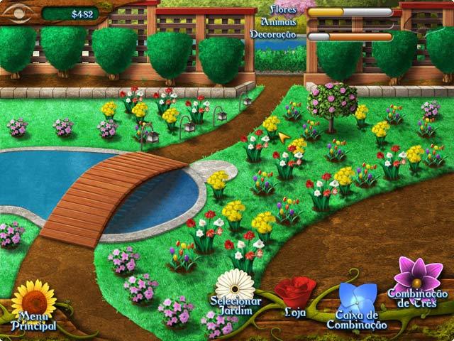 Flower paradise game
